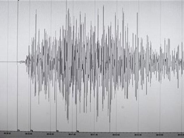 Ayacucho: sismo de magnitud 4.7 se registró esta madrugada
