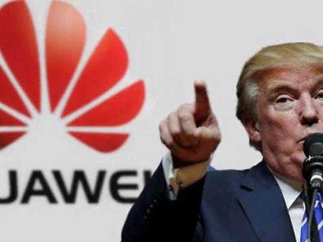 Trump prohíbe equipos Huawei en todo Estados Unidos