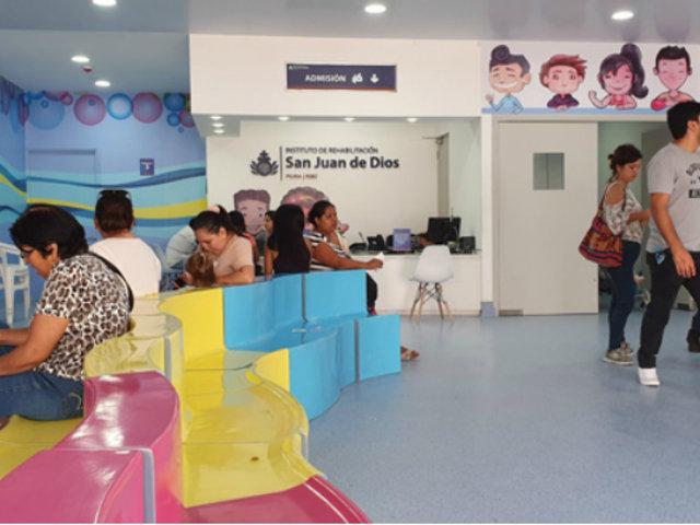 Piura: inauguran moderno centro de rehabilitación gracias a fondos de la Teletón
