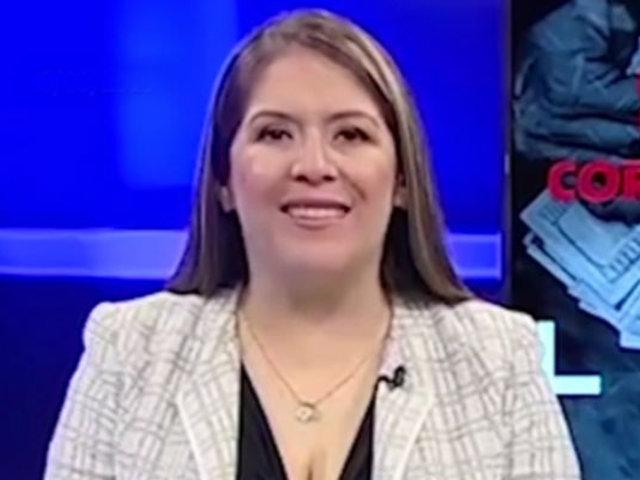Críticas por programa de Yeni Vilcatoma en el Congreso