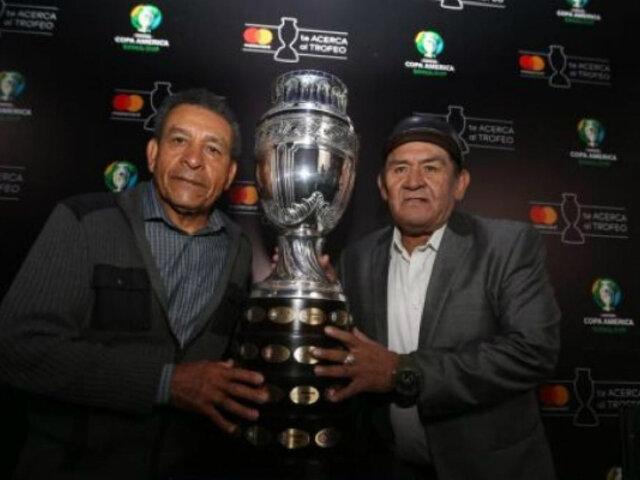 Glorias del fútbol peruano se reencontraron con la Copa América