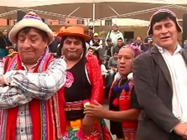 """Humor Campesino: disfrute todo el talento de los """"Cholos de la comicidad"""""""