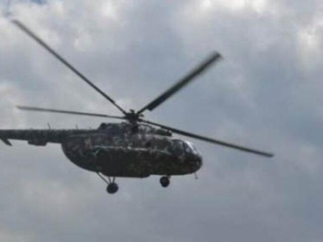 Amazonas: llegaron a Lima los militares heridos por caída de helicóptero