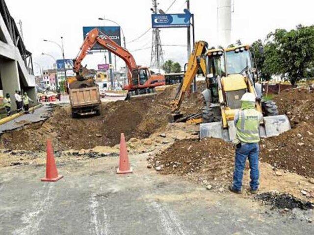 SJL: en julio tuberías del colector Canto Grande serán renovadas