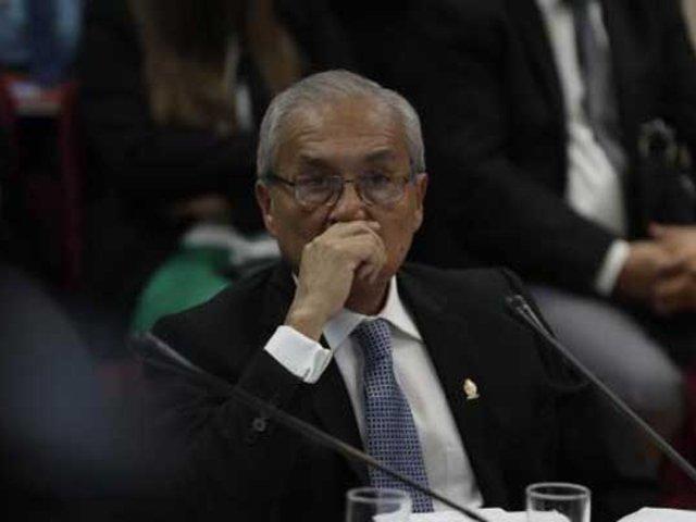 Aprueban informe que recomienda destitución e inhabilitación de Pedro Chávarry
