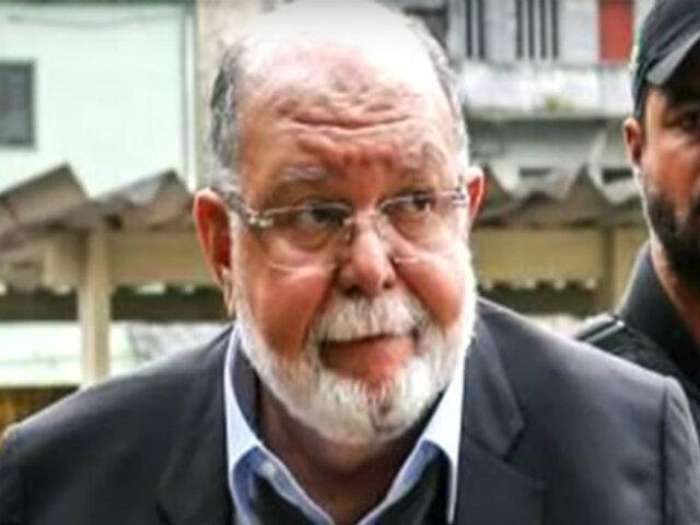 Leo Pinheiro: Equipo Especial Lava Jato interroga en Brasil a expresidente de OAS