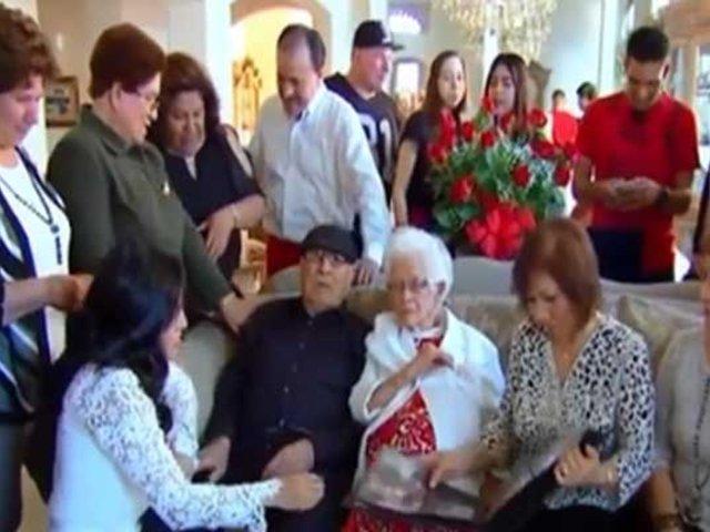 Récord: Pareja celebra 82 años de casados