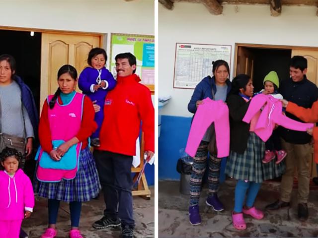 Cuna Más entrega más de 14 mil kits de abrigo en Cusco