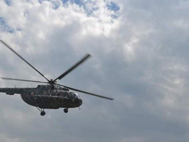 Amazonas: helicóptero que transportaba víveres explota y cae a quebrada
