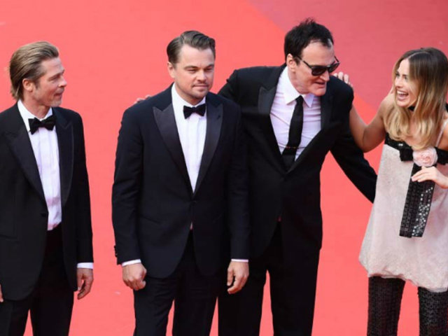 Leonardo DiCaprio, Brad Pitt y Margot Robbie alborotaron Cannes