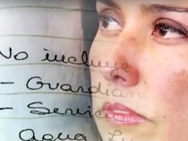 Reacciones: Rocío Calderón, amiga de Heredia, recibió US$ 180 mil de OAS