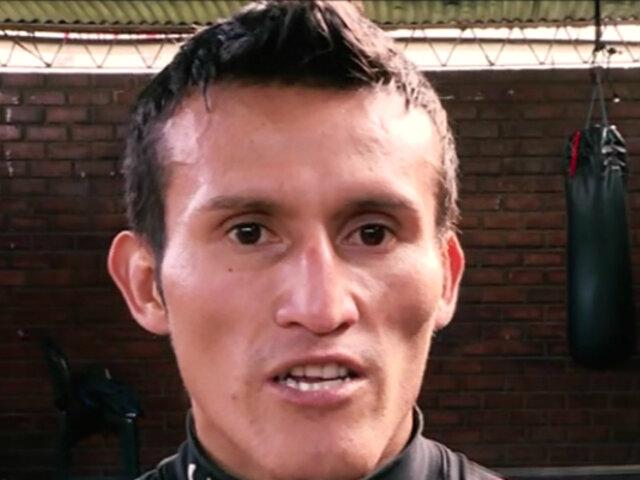 Ricardo Astuvilca: peruano luchará por el título mundial de boxeo