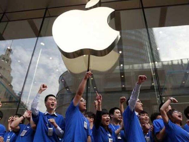 Apple baja ventas en China por guerra comercial con EE.UU