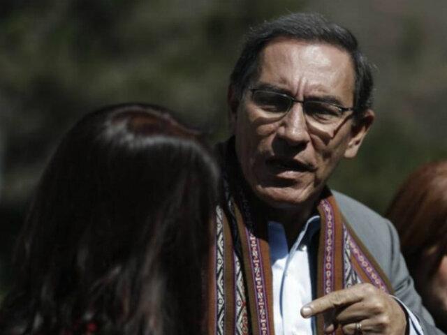 Juan Carlos Valdivia: cuestión de confianza logrará que Vizcarra mejore su posición en encuestas