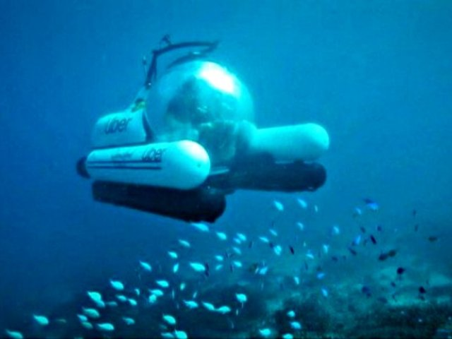 Uber lanza nuevo servicio de viajes submarinos [VIDEO]