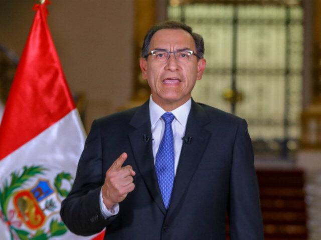 Martín Vizcarra: aprobación del presidente cae 20 puntos en el sur, según Ipsos