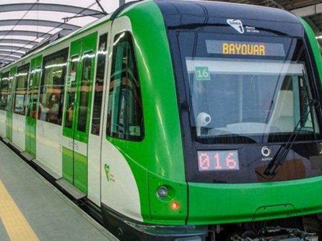 Línea 1 del Metro de Lima anulará seis viajes a partir de este lunes