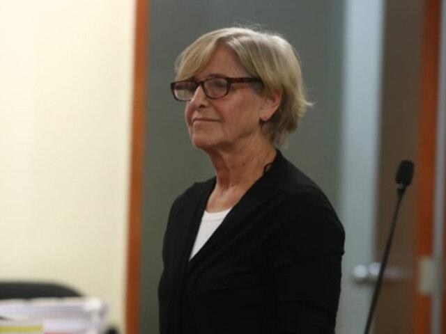 Ex alcaldesa Susana Villarán se quejó sobre su condición en cárcel