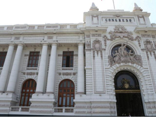 Congreso de la República: infraestructura interna y externa  son un peligro