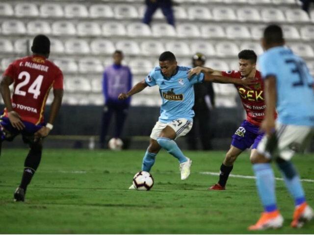 Copa Sudamericana 2019: Sporting Cristal derrotó 3-0 a Unión Española
