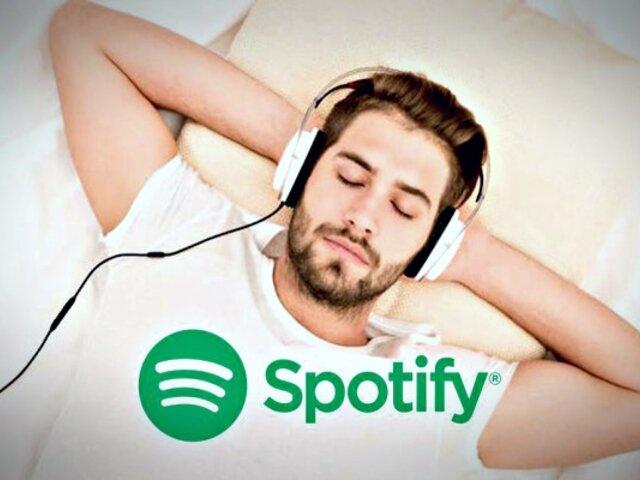 Spotify lanza 'temporizador' para detener la música antes de dormir