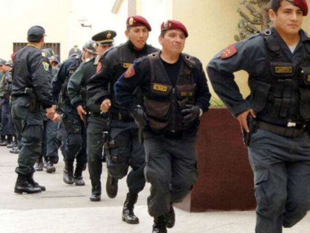 Mininter: más distritos podrán contratar policías en días de franco o vacaciones