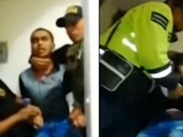 Surquillo: agreden a policía que detuvo a ladrón