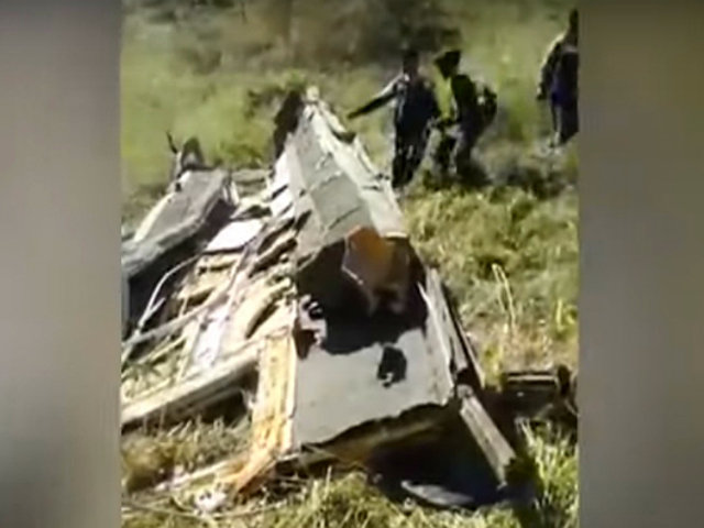 Huaráz: ómnibus cae a abismo y dejó cinco personas muertas y 16 heridos