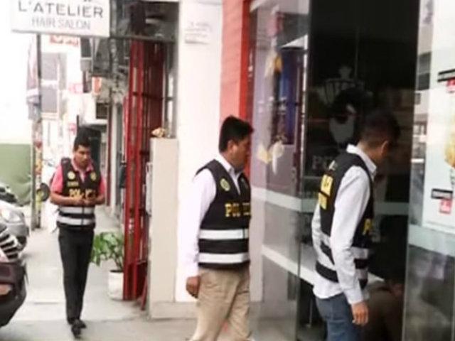SJL: roban 6 mil soles de local de comida rápida