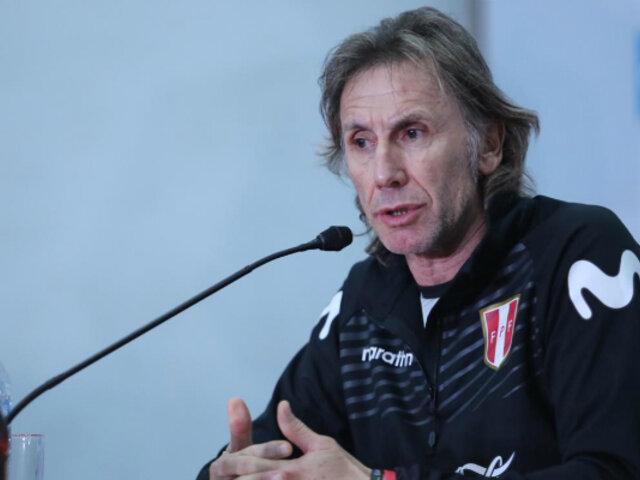 Ricardo Gareca no quiere polémica y se concentra en la Copa América