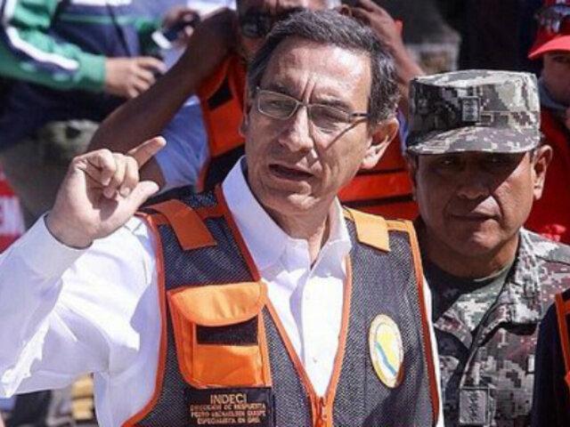 Martín Vizcarra sobre cuestión de confianza: