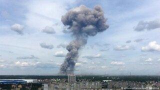Rusia: detonaciones en fábrica de explosivos deja decenas de heridos