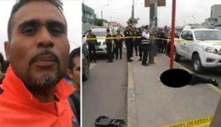 Familiares de presunto delincuente abatido en el Callao exigen justicia