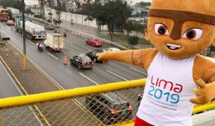 Surco: cierran carriles de la Panamericana Sur como prueba para los Panamericanos 2019