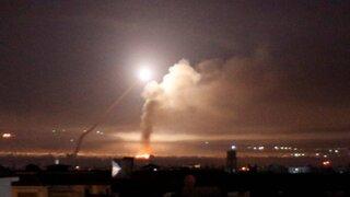 VIDEO: mueren tres soldados sirios durante ataque israelí