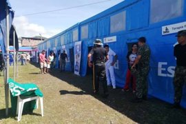 EsSalud: Hospital Perú atiende a cientos de pobladores del  Vraem