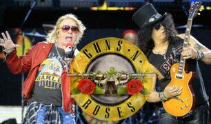 Guns N' Roses grabará un disco nuevo con sus integrantes originales
