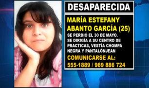 Persona desaparecida