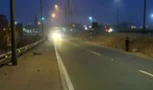Reabren acceso a la autopista Ramiro Prialé tras accidente de tráiler