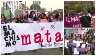 Eyvi Ágreda: realizan marcha contra el feminicidio a un año de su muerte
