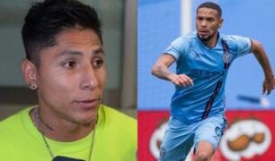 Ruidíaz y Callens llegaron a Lima para integrarse a la Selección Peruana