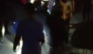 Arequipa: turba lincha a sujeto que intentó asaltar a taxista