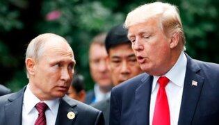 """Trump bromea con Putin en cumbre del G20: """"No te metas en las elecciones"""""""