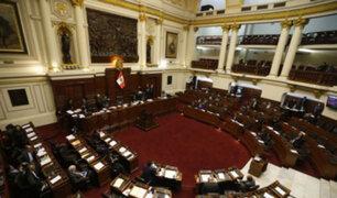 Pleno del Congreso rechaza recomposición de comisiones tras creación de bancadas