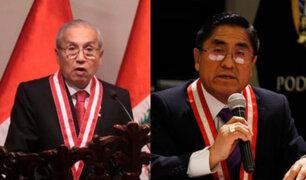 Reacciones en el Congreso por amistad entre Hinostroza y Chávarry