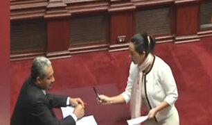 Nueva baja en Fuerza Popular: Nelly Cuadros renunció a la bancada naranja