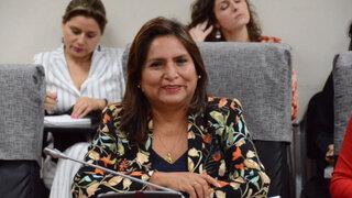 PJ  pidió al congreso levantar inmunidad a legisladora Betty Ananculí