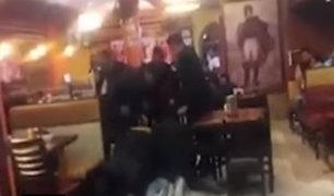Huaura: capturan a delincuentes tras frustrar asalto en pollería