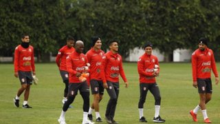 Perú vs Costa Rica: los 23 convocados realizaron práctica en La Videna