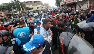 Alcaldes de Independencia y SMP se reúnen tras enfrentamiento por límites